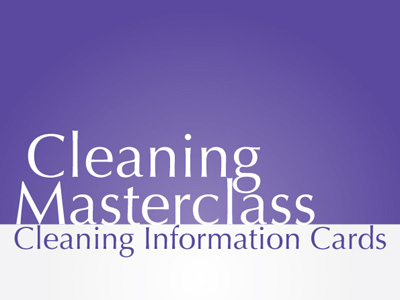 Cleaning Information Cards