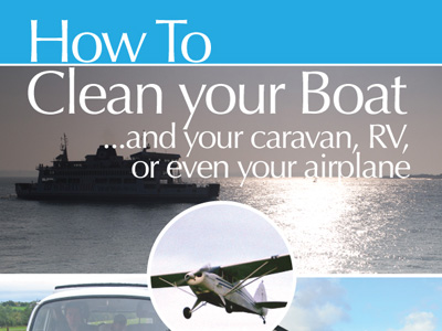 How to Clean your Boat...